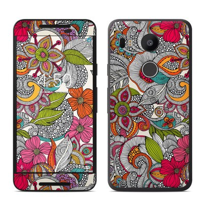 Google Nexus 5X Skin - Doodles Color