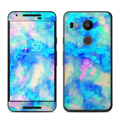 Google Nexus 5X Skin - Electrify Ice Blue