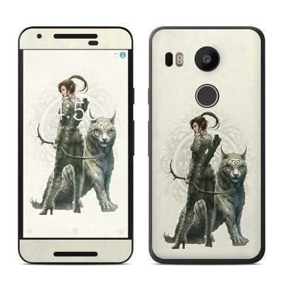 Google Nexus 5X Skin - Half Elf Girl