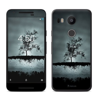 Google Nexus 5X Skin - Flying Tree Black