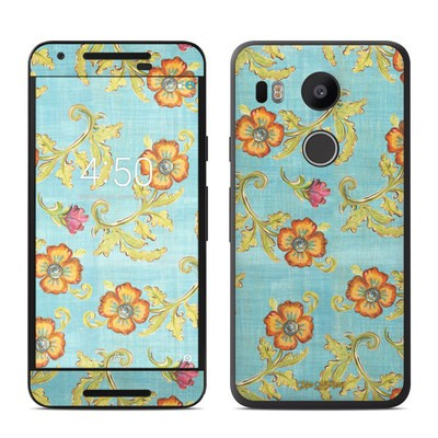 Google Nexus 5X Skin - Garden Jewel
