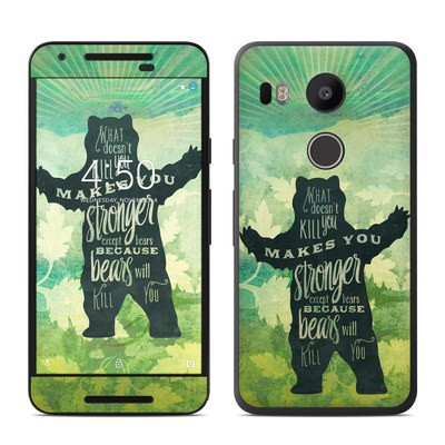 Google Nexus 5X Skin - What Doesnt Kill You