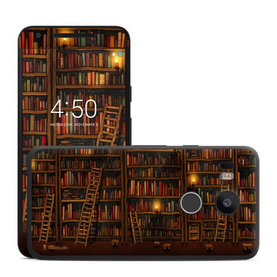 Google Nexus 5X Skin - Library