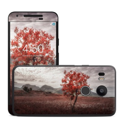 Google Nexus 5X Skin - Lofoten Tree