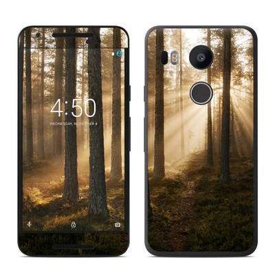 Google Nexus 5X Skin - Misty Trail