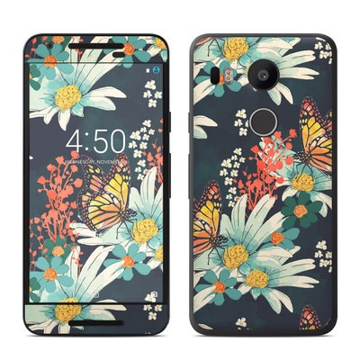 Google Nexus 5X Skin - Monarch Grove