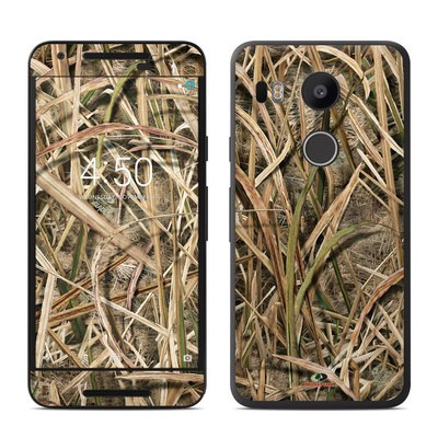 Google Nexus 5X Skin - Shadow Grass Blades