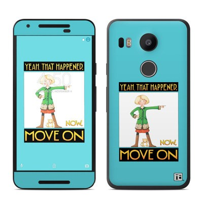 Google Nexus 5X Skin - Move On