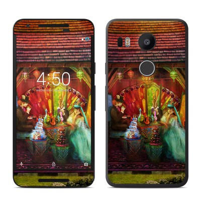 Google Nexus 5X Skin - A Mad Tea Party