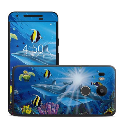 Google Nexus 5X Skin - Ocean Friends