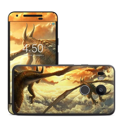 Google Nexus 5X Skin - Over the Clouds