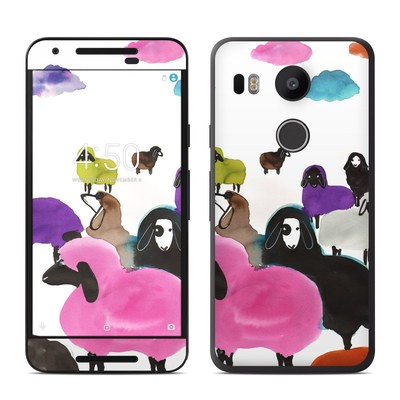 Google Nexus 5X Skin - Sheeps