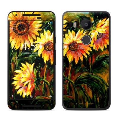 Google Nexus 5X Skin - Sunflower Sunshine