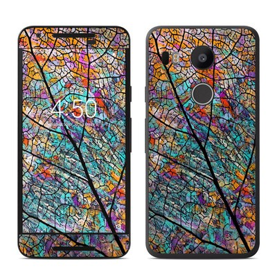 Google Nexus 5X Skin - Stained Aspen