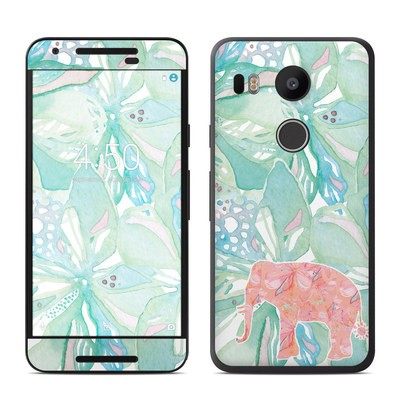 Google Nexus 5X Skin - Tropical Elephant