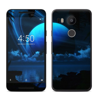 Google Nexus 5X Skin - Tropical Moon