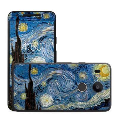 Google Nexus 5X Skin - Starry Night