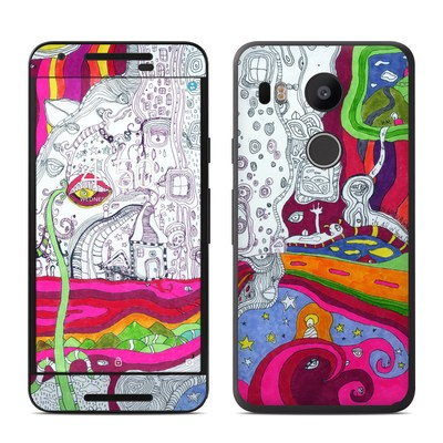Google Nexus 5X Skin - In Your Dreams