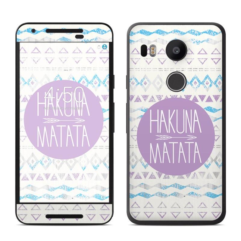 Google nexus 5x skin hakuna matata by brooke boothe for Nexus 5 skin template