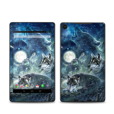 Google Nexus 7 2013 Skin - Bark At The Moon