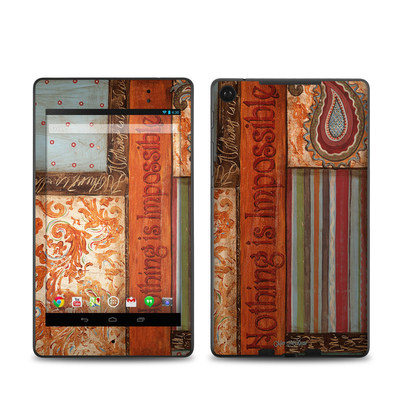Google Nexus 7 2013 Skin - Be Inspired