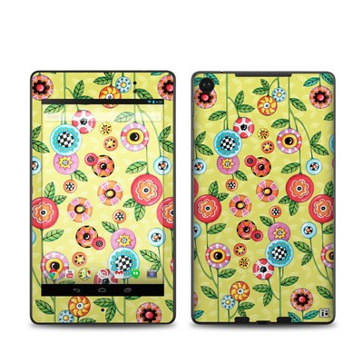 Google Nexus 7 2013 Skin - Button Flowers