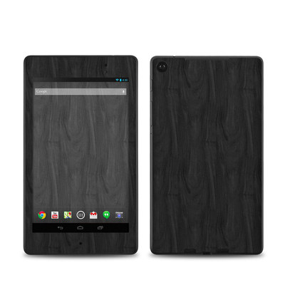 Google Nexus 7 2013 Skin - Black Woodgrain