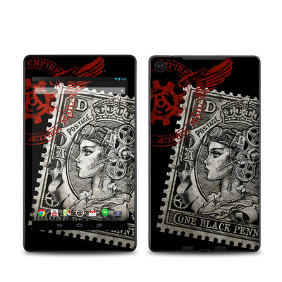 Google Nexus 7 2013 Skin - Black Penny