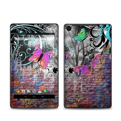 Google Nexus 7 2013 Skin - Butterfly Wall