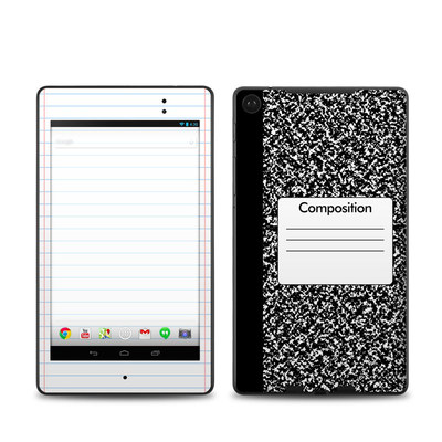 Google Nexus 7 2013 Skin - Composition Notebook