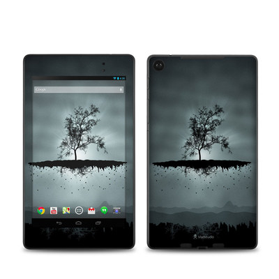 Google Nexus 7 2013 Skin - Flying Tree Black