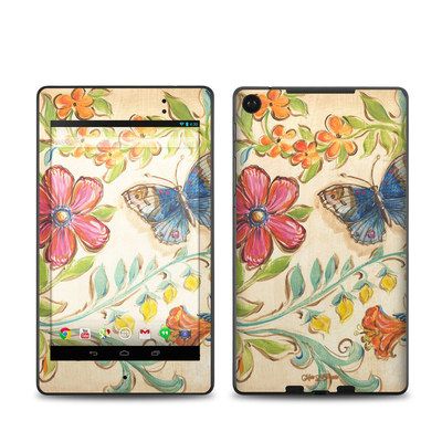 Google Nexus 7 2013 Skin - Garden Scroll