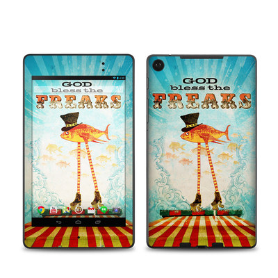 Google Nexus 7 2013 Skin - God Bless The Freaks