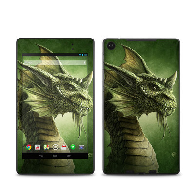 Google Nexus 7 2013 Skin - Green Dragon