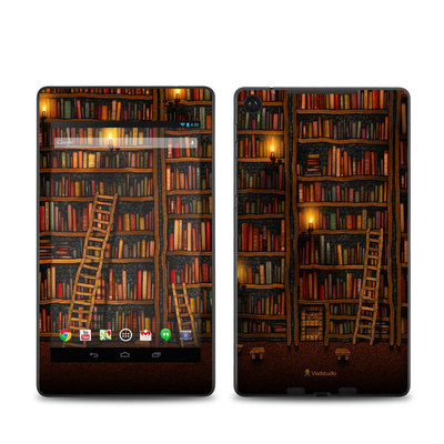 Google Nexus 7 2013 Skin - Library