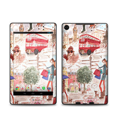 Google Nexus 7 2013 Skin - London