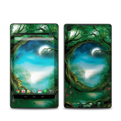 Google Nexus 7 2013 Skin - Moon Tree