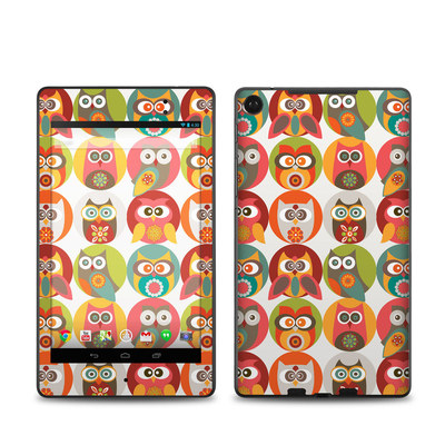 Google Nexus 7 2013 Skin - Owls Family