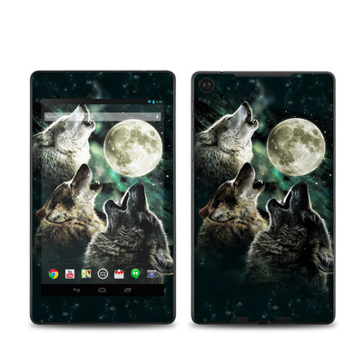 Google Nexus 7 2013 Skin - Three Wolf Moon