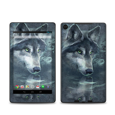 Google Nexus 7 2013 Skin - Wolf Reflection