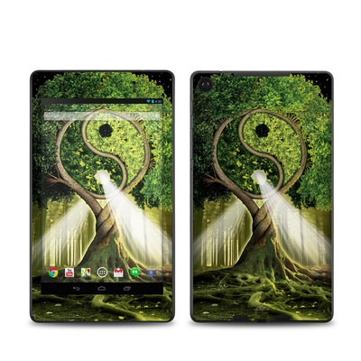 Google Nexus 7 2013 Skin - Yin Yang Tree