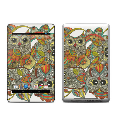 Google Nexus 7 Tablet Skin - 4 owls