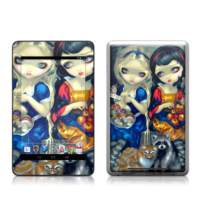 Google Nexus 7 Tablet Skin - Alice & Snow White