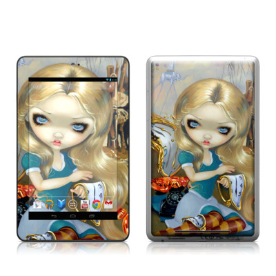 Google Nexus 7 Tablet Skin - Alice in a Dali Dream