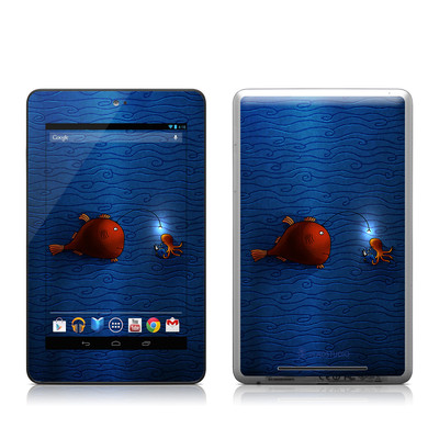 Google Nexus 7 Tablet Skin - Angler Fish