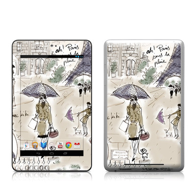 Google Nexus 7 Tablet Skin - Ah Paris