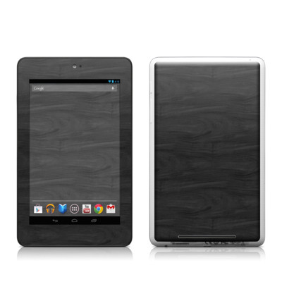 Google Nexus 7 Tablet Skin - Black Woodgrain