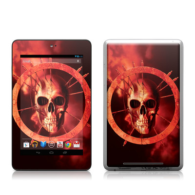 Google Nexus 7 Tablet Skin - Blood Ring