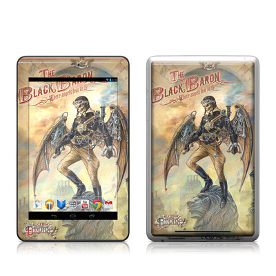 Google Nexus 7 Tablet Skin - The Black Baron