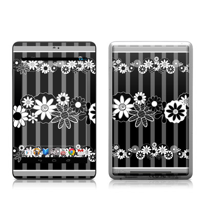 Google Nexus 7 Tablet Skin - Black Retro